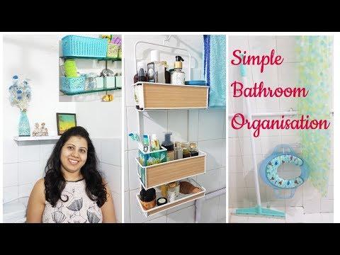 Small Bathroom Organization | Indian Bathroom Storage Ideas | Maitreyee's Passion