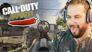 Call of Duty WW2 Beta Gameplay With Hot Peppers