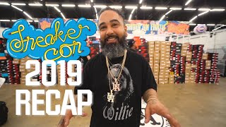 2019 review. Spending millions at Sneakercon! + showcasing some of my favorite upcoming resellers.