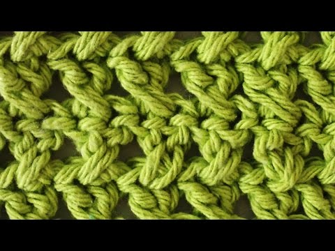 Stitch Repeat Cross Stitch Free Crochet Pattern - Right Handed