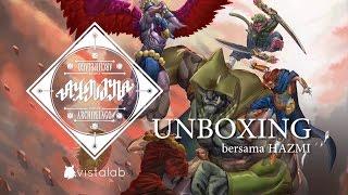 Ayodya Card Game - Unboxing bersama Hazmi!