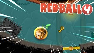 RED BALL 4 INTO THE CAVES   Part 1