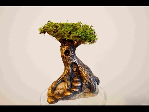 How To Sculpt A Polymer Clay Fairy Tree House