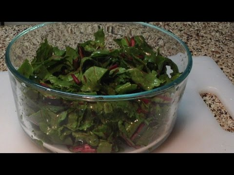 A Simple Way To Cook Beet Greens