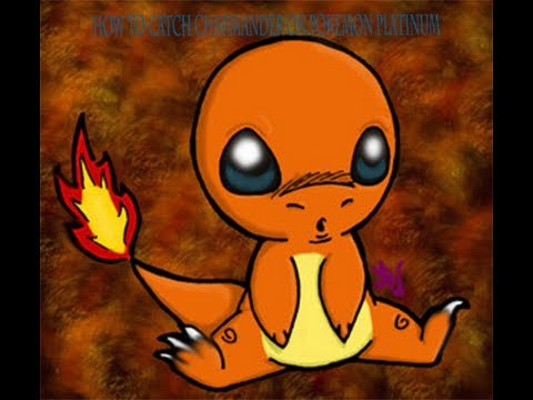 How to get charmander in Pokemon platinum