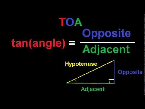 SOH CAH TOA : How to Solve a Right Triangle