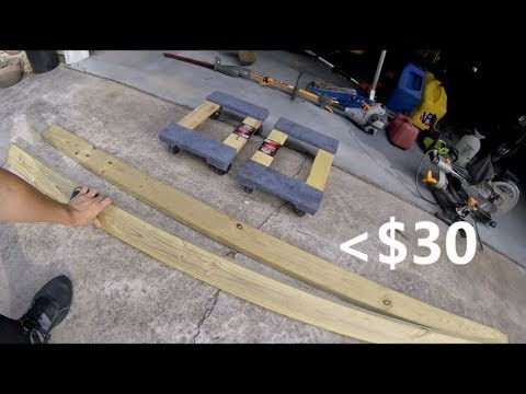How to Build A Jetski Dolly For less than $30