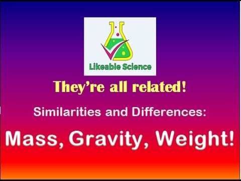 Mass, Gravity, and Weight!