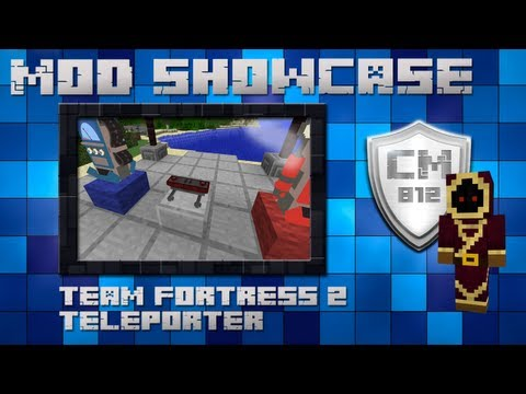 Minecraft mod - Team Fortress 2 Teleporter