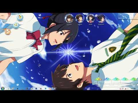 Windows 7 Theme Kimi no Nawa