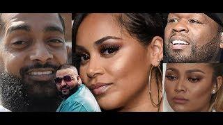 Lauren London REACTS Nipsey Hussle Dj Khaled Video Higher 'King of LA', 50 Cent Teairra Mari