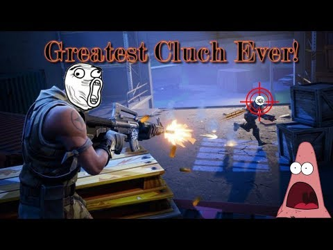 Most Epic Clutch of ALL TIME! | Fortnite Battle Royale