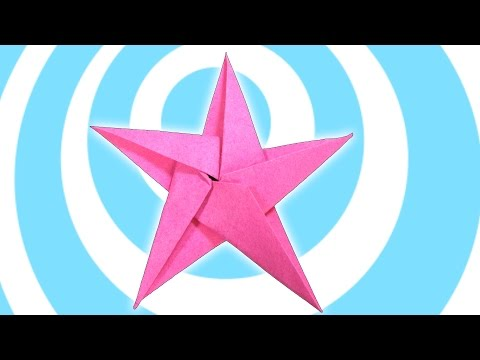 DIY: 5 Pointed Origami Star Christmas Ornaments Tutorial