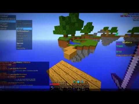 VOLANDO EN CUBECRAFT ?!?! -Sky wars | Minecraft Montage | [XIV]