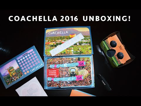 COACHELLA UNBOXING/REVIEW (WHAT'S INSIDE?) 2016