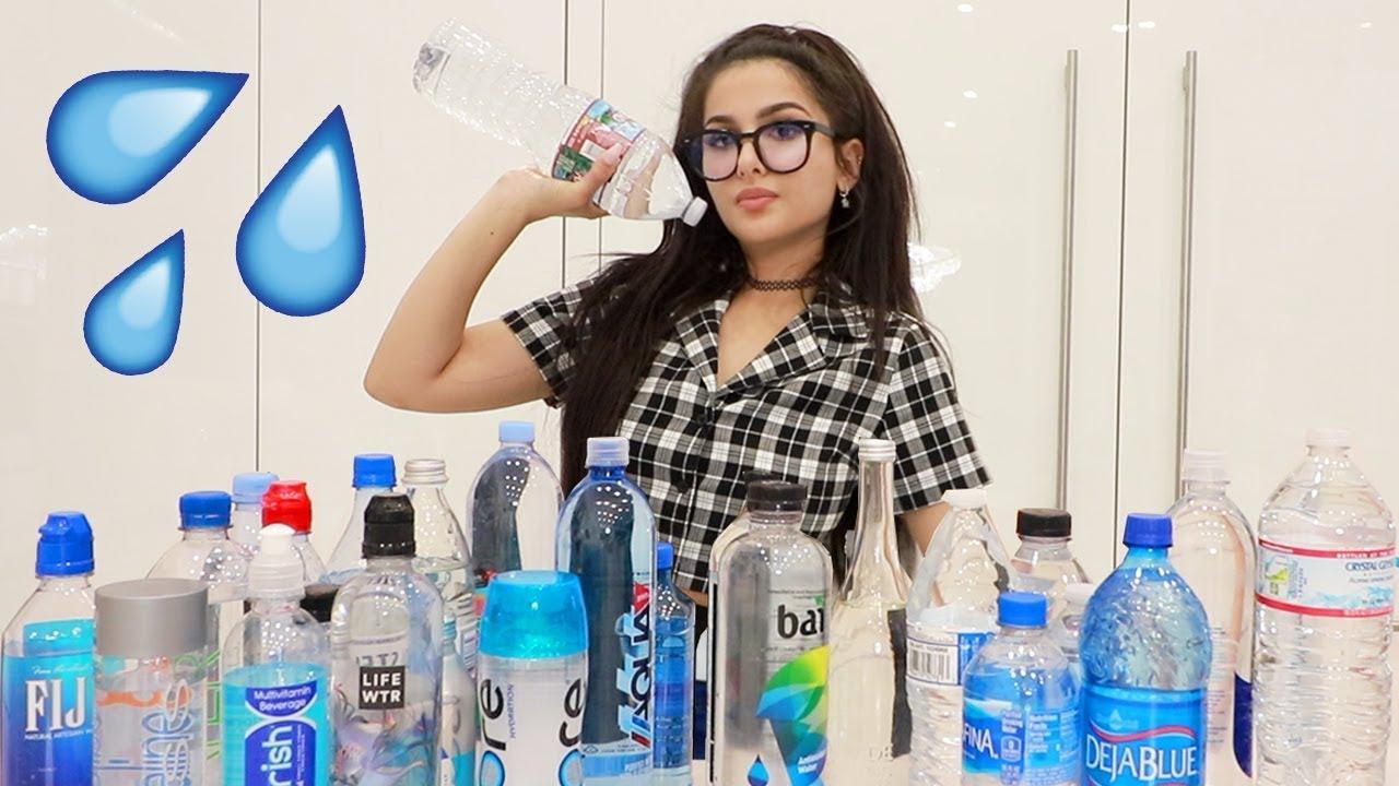 TRYING EVERY BOTTLED WATER (WATER TASTE TEST)