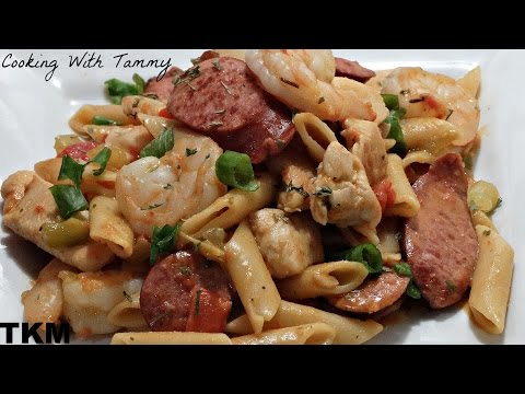 One-Pot Pastalaya (One-Pot Pasta Recipe)