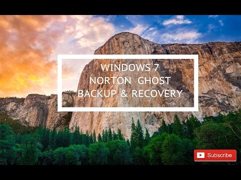 How to Norton Ghost backup and recovery Windows 7 FULL HD #004