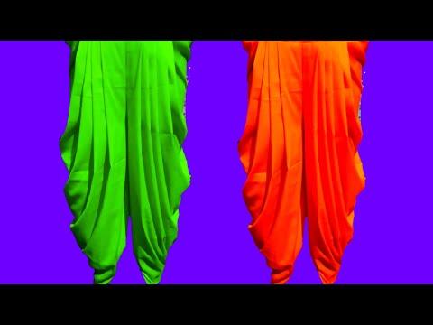 self designed Krishna dhoti salwar cutting and stitching..  (very beautiful salwar)