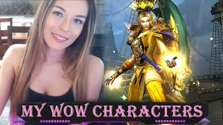 ASMR - My World of Warcraft Characters   Whispering, Mouse Clicking,  etc.