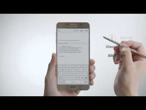 Write On PDF with Galaxy Note5