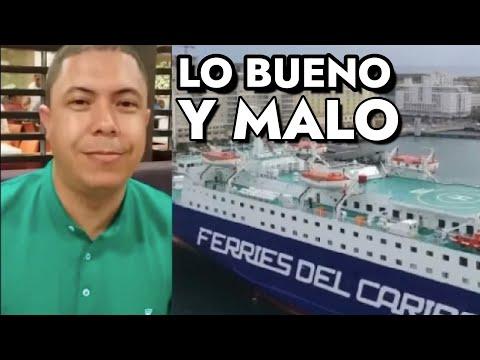 Vlog viaje en Ferries del Caribe Santo Domingo- San Juan Puerto Rico