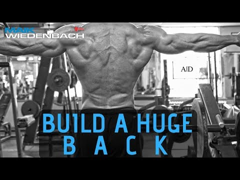 Do This If a Muscle is Lagging Behind! Build a Huge Back!