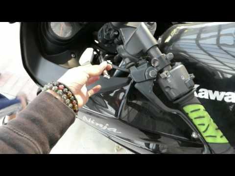 Kawasaki Ninja 250R Clutch Cable Replacement