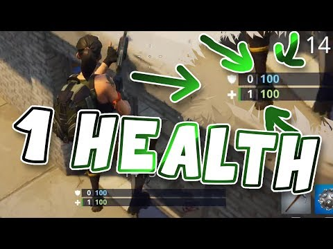 This NOOB has 1 HEALTH ??? | Fortnite Battle Royale