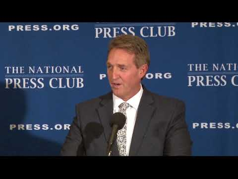 Sen. Jeff Flake wants to see a conservative presidential candidate in 2020 | Cronkite News