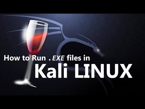 How to install latest Wine 32 or 64 bits (to Run Windows applications) on Kali Linux