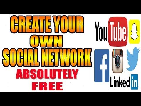 How to create a free social network in urdu/hindi tutorial