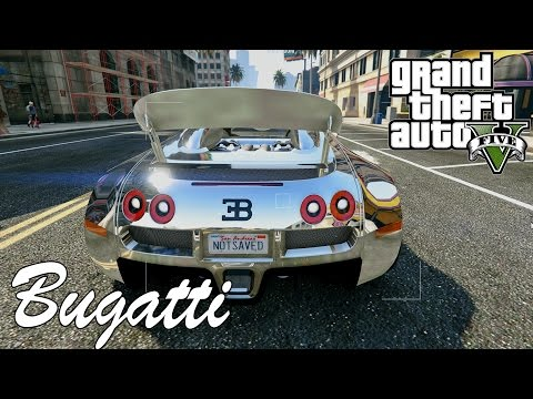 GTA 5 - Bugatti Veyron Grand Sport [Car MOD] | Drifting