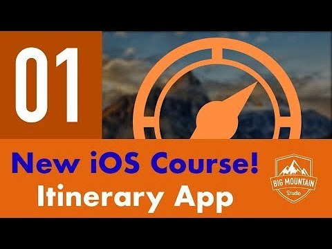 Introduction - Part 1 - Itinerary App (iOS, Xcode 9, Swift 4)