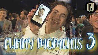 Armie Hammer & Timothée Chalamet - Funny Moments PART 3