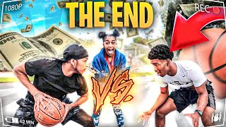 1v1 Basketball vs. My 16 Year Old Sister's Boyfriend... (If I win they have to break up)