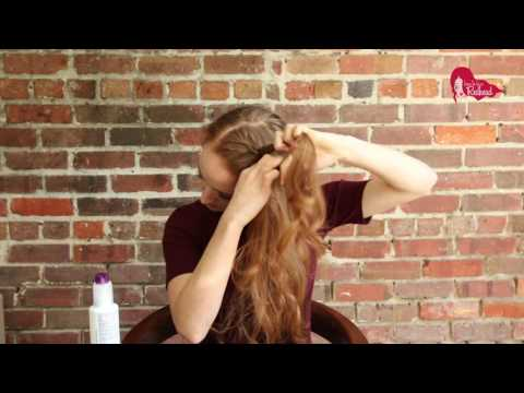 How To Do The Inside Out Braid Yourself - Easy Tutorial
