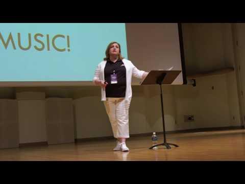 JulieAnn Bernard at the Music for All Leadership Weekend Experience