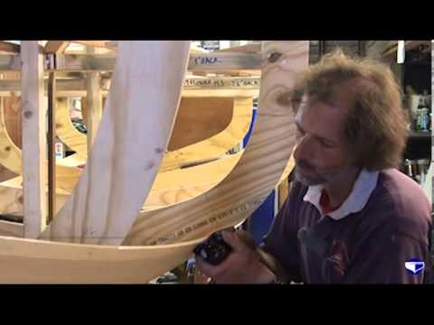 Fitting planks on a clinker vessel (small boats) - Part 1