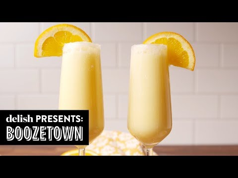 4 Mimosas You Can't Brunch Without | Boozetown | Delish | Ep 12