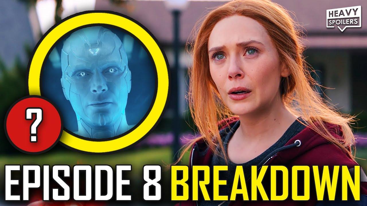 WANDAVISION Episode 8 Breakdown & Ending Explained Spoiler Review   Marvel Easter Eggs & Theories