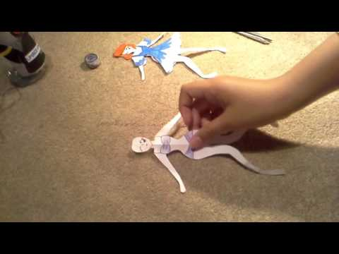 How to make a paper doll super cute and simple