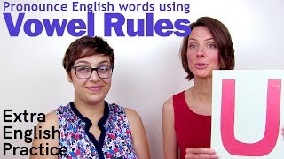 English Vowel Rules - Spelling and Pronuncation