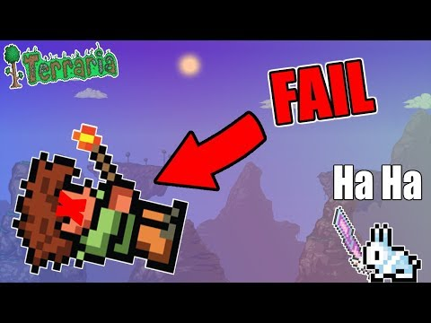 HOW TO INSTANTLY FAIL AT TERRARIA!