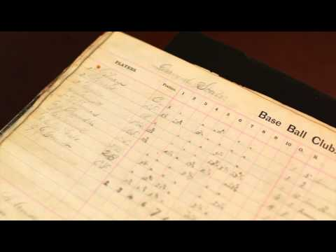 Delaware Historical Society Favorite Things_October 2014: Diamond State Base Ball Club Score Book