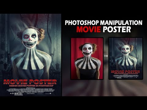 Make Horror Movie Poster In Photoshop CC 2018