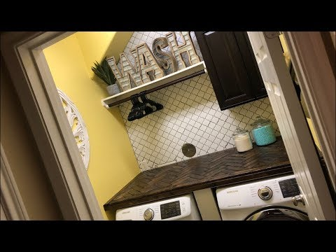 DIY EXTREME LAUNDRY ROOM MAKEOVER