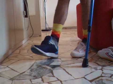 sprained ankle new shoe test: kappa vs feiyue vs american eagle