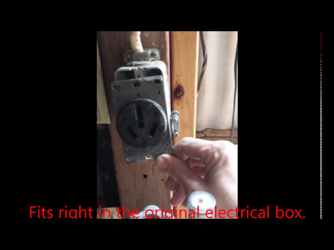 Updating a 240 Oven or Dryer Electrical Outlet