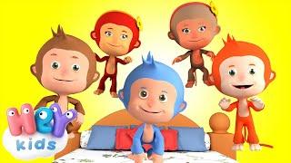 Cinque Scimmiette - Le più belle canzoni per bambini